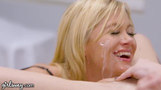 GIRLSWAY Doctor MILF Diagnosed Teen with Squirting Orgasms
